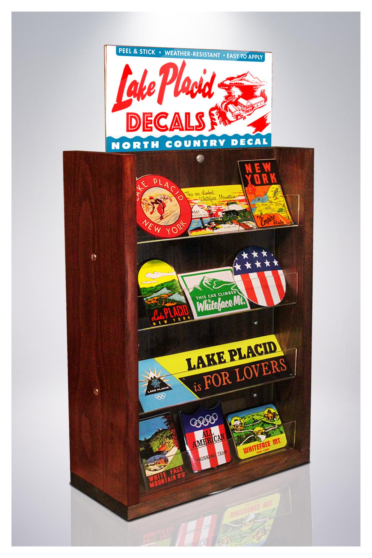 NCD display rack_LP – North Country Decal