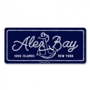 Alex Bay 1000 Islands New York decal sticker