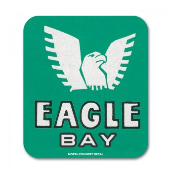Eagle Bay New York Adirondack camp decal sticker