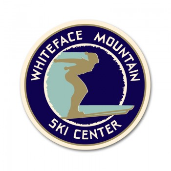 Whiteface Mountain Ski Center Golden Age Decal Sticker