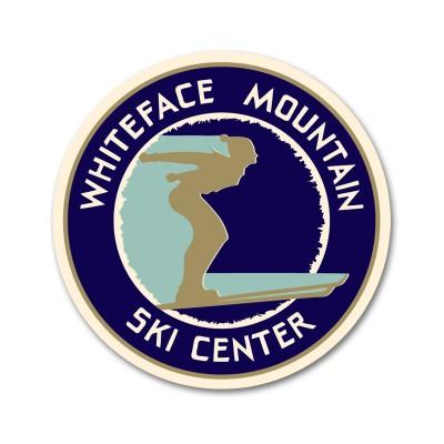 Whiteface Mountain Ski Center Golden Age Decal Sticker
